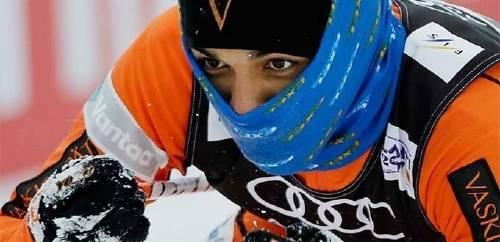 El deportista  que participó del mundial de esquí aunque no conocía la nieve