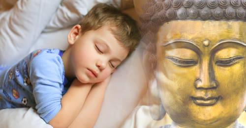 Léele este cuento budista a tu niño para que tenga dulces sueños