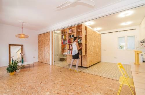Esta casa cambia de forma según las necesidades de su habitante
