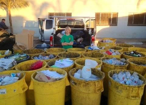 Un niño de 11 años montó una empresa de reciclaje