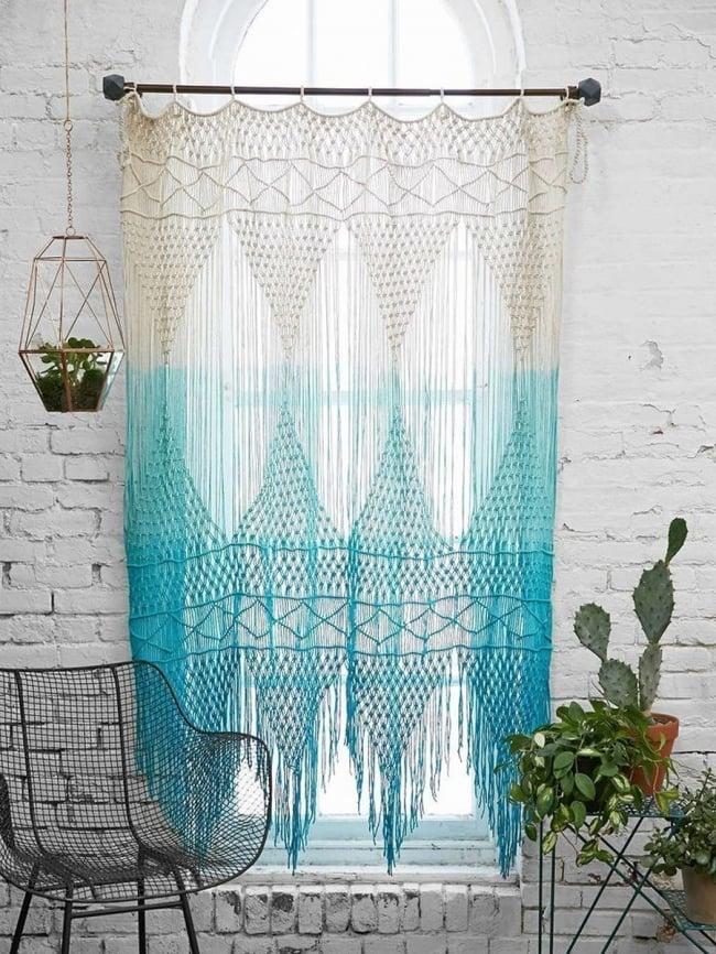 macrame cortina