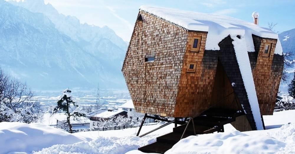 5 refugios en las montañas en los que amarás desaparecer