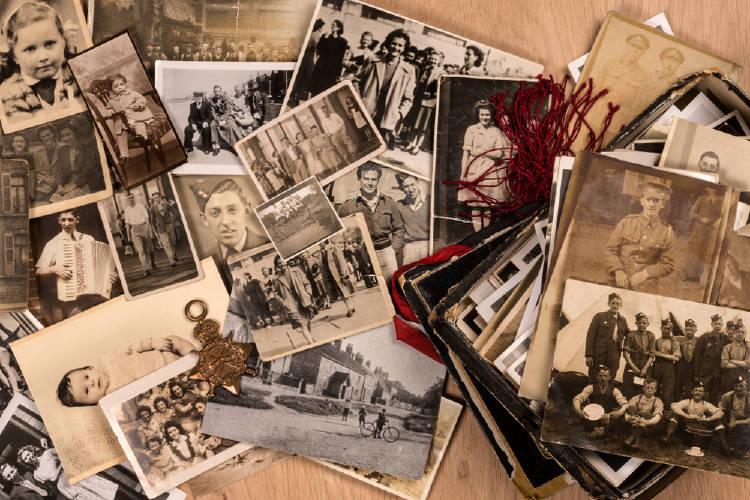 Fotos de ancestros, estudio transgeneracional.