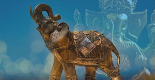 ¿Porqué los elefantes son amuletos de la suerte?