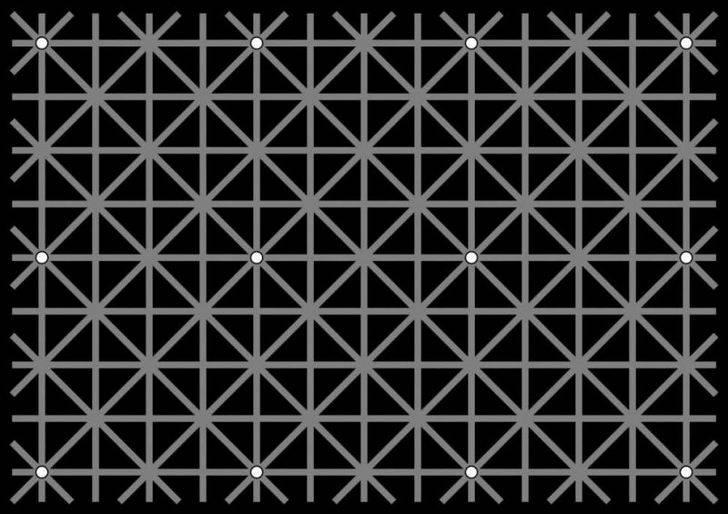 Test visual: ilusion de Ninio