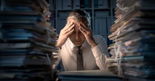 El exceso de trabajo puede aumentar el riesgo de sufrir un derrame cerebral