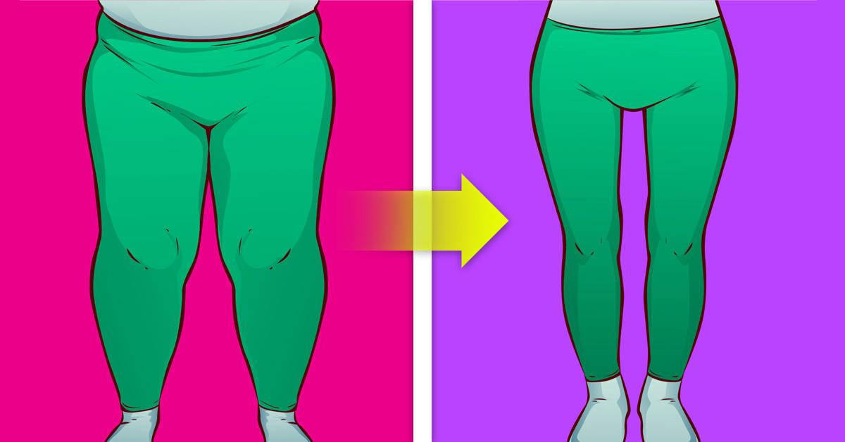 8 ejercicios para quemar grasa de la entrepierna que puedes hacer en casa