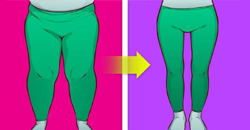 quitar la grasa de los muslos