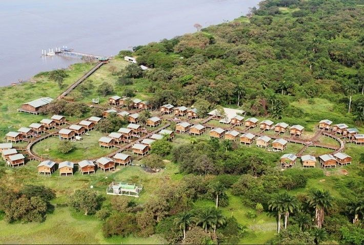 Ecoaldea en isla Santay, Guayaquil