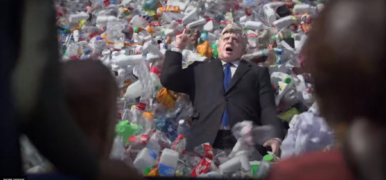 Greenpeace denuncia en un video la política medioambiental del Reino Unido