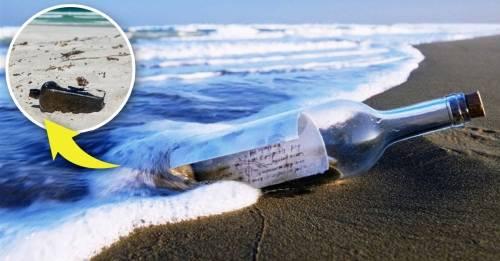 Hallan mensaje en botella lanzada desde barco alemán en 1886: este era el men..