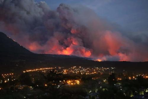 Patagonia en llamas: pueblos arrasados y miles de hectáreas de bosque perdidas