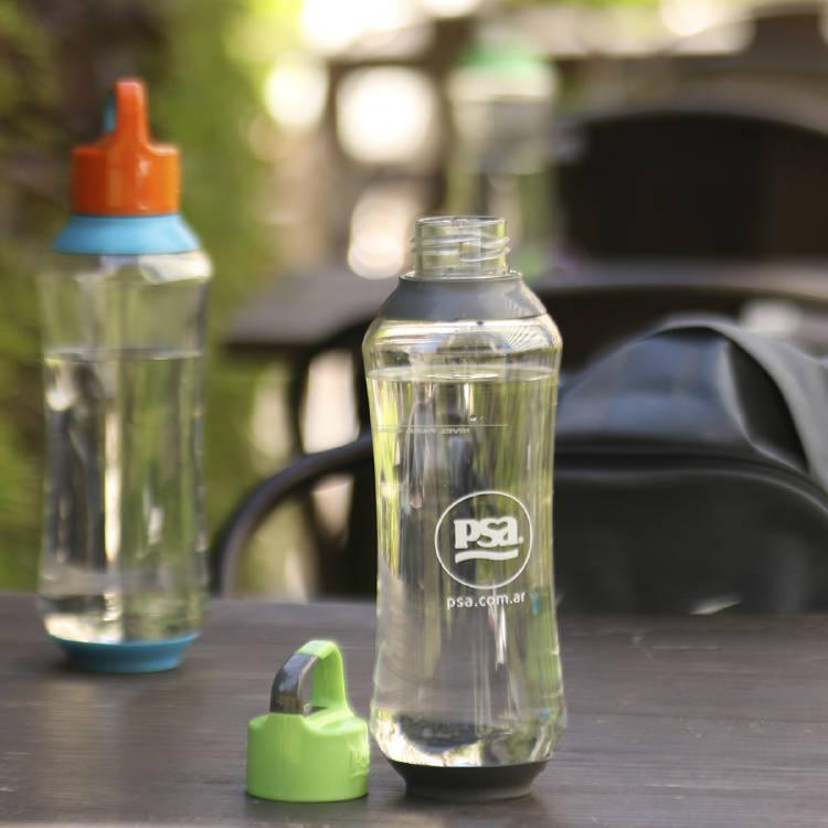 Botella de agua PSA