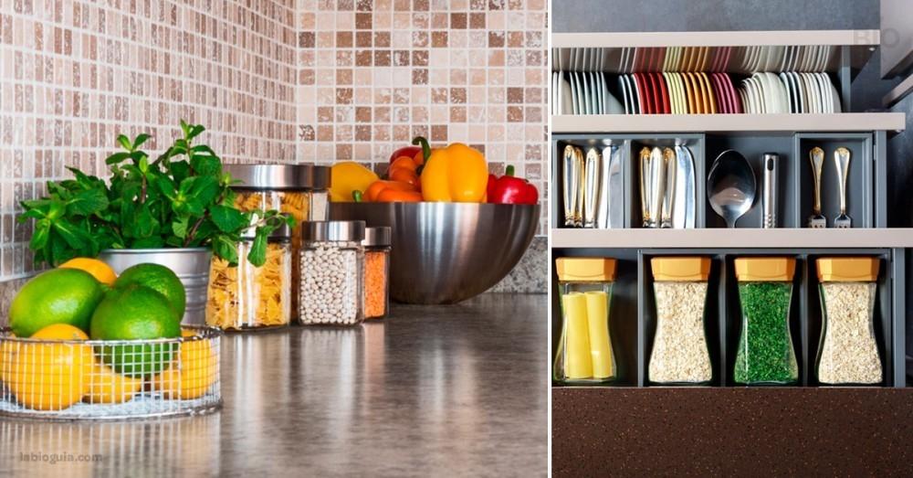 7 tips para ordenar los armarios de tu cocina y que te simplifiquen la vida 152a52540dbe