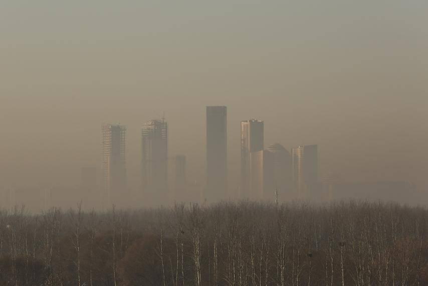 China construye un purificador de aire de más de 100 metros de altura