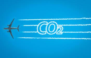 avion combustible co2 dioxido de carbono