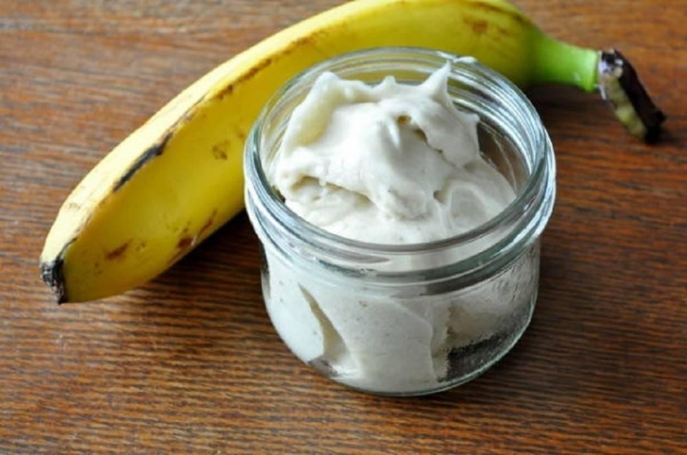 Cómo hacer un helado natural de plátano