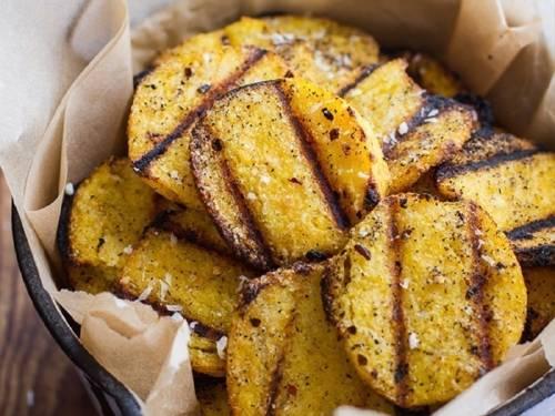 Chips grillados saludables